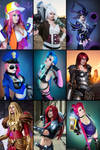 My League of Legends Cosplays