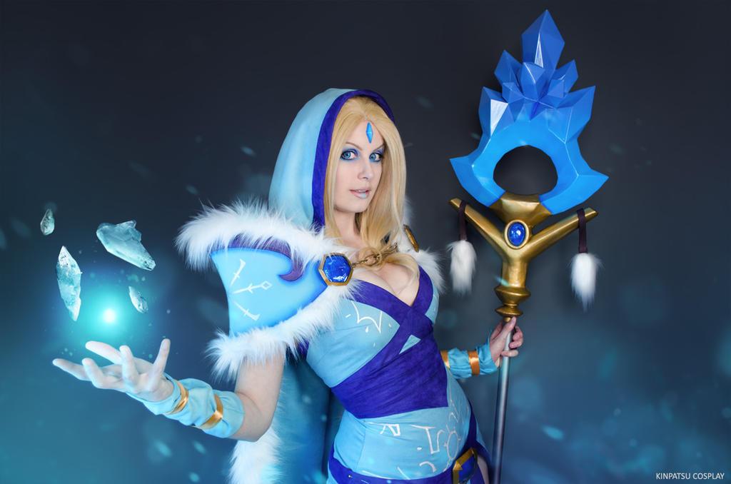 crystal maiden dota 2 by kinpatsu cosplay on deviantart