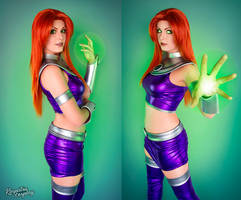 Starfire - Teen Titans by Kinpatsu-Cosplay