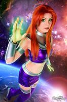 Starfire - Teen Titans by Kinpatsu-Cosplay