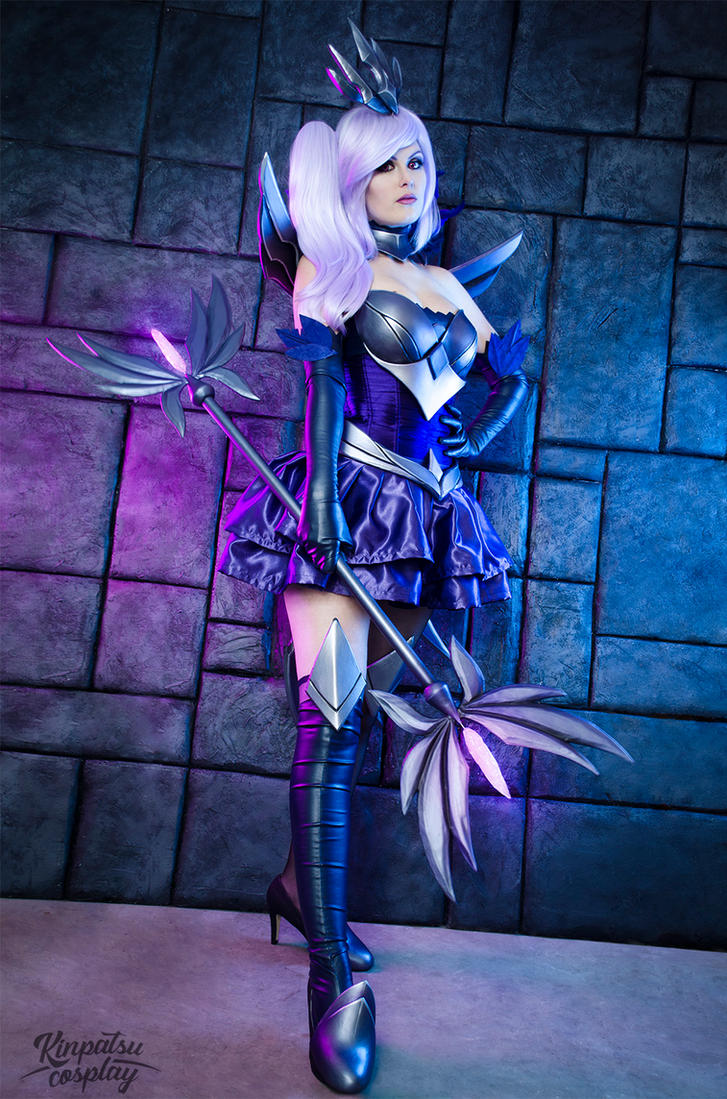 Dark Elementalist Lux - League of Legends by Kinpatsu-Cosplay