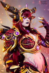 Alexstrasza - World of Warcraft by Kinpatsu-Cosplay