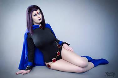 Raven - Teen Titans by Kinpatsu-Cosplay