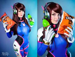 Dva - Overwatch by Kinpatsu-Cosplay