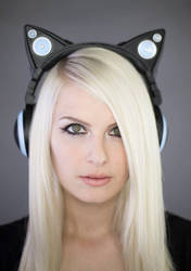 Cat Ear Headphones by Kinpatsu-Cosplay
