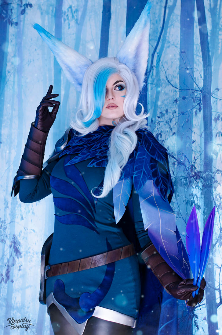 SSG Xayah - League of Legends by Kinpatsu-Cosplay