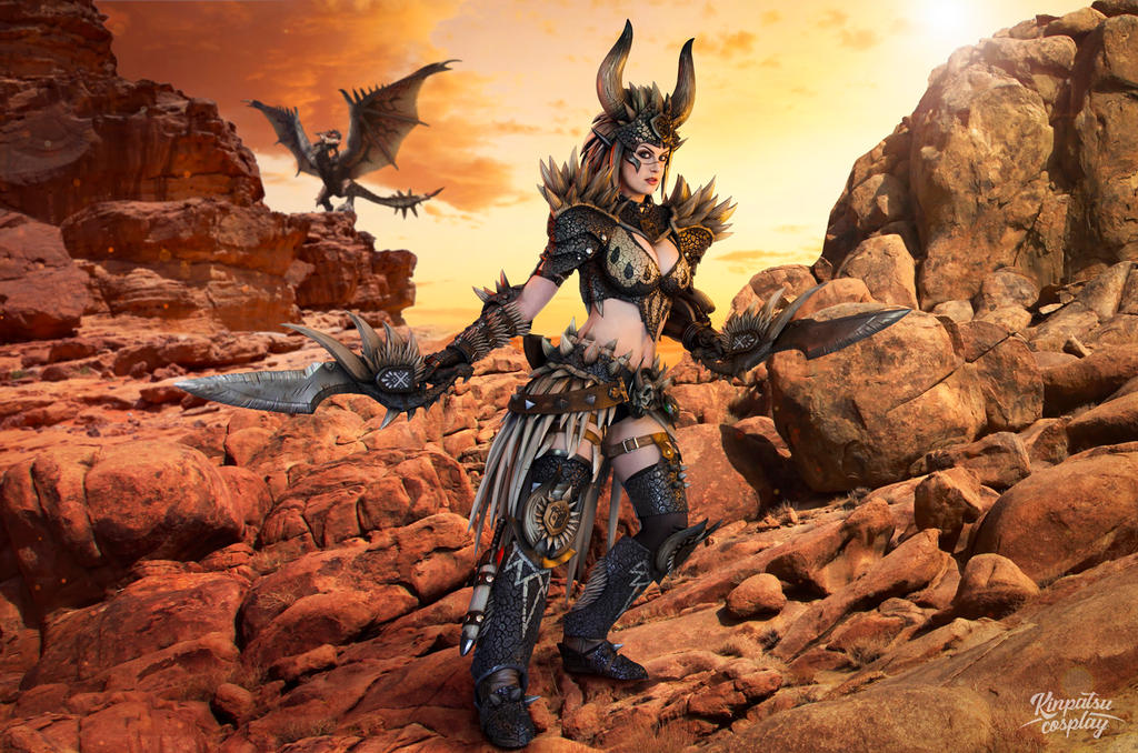 Nergigante Armor - Monster Hunter World by Kinpatsu-Cosplay