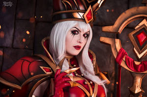 Sally Whitemane - Heroes of the Storm by Kinpatsu-Cosplay
