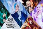 Kinpatsu Cosplay 2019 Calendar