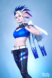 KDA Akali All Out Cosplay - League of Legends