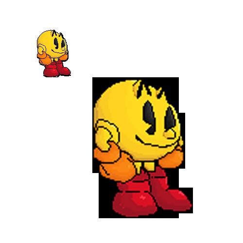 Pac Man Pixel Art By Thesmashwaffle On Deviantart