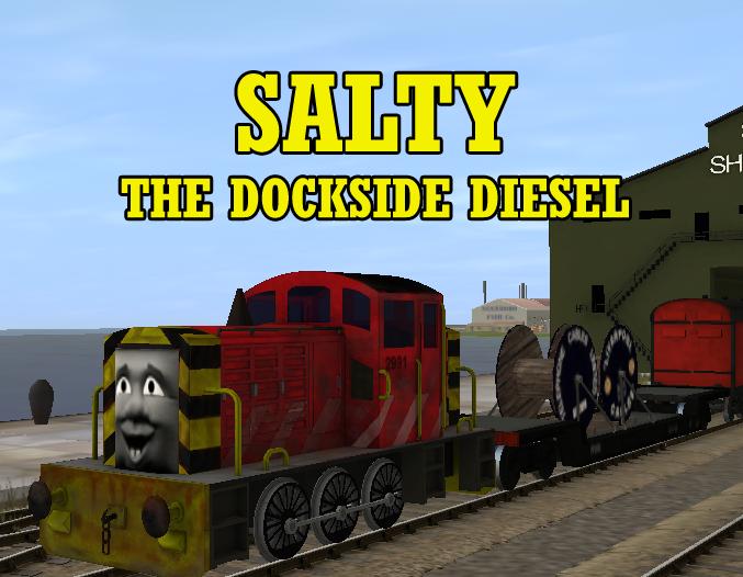 Salty the Dockside Diesel Release by lbbrian
