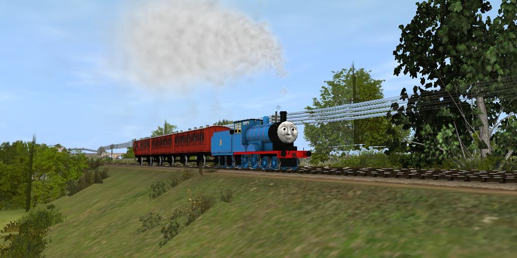 Edward's Branchline Train by lbbrian