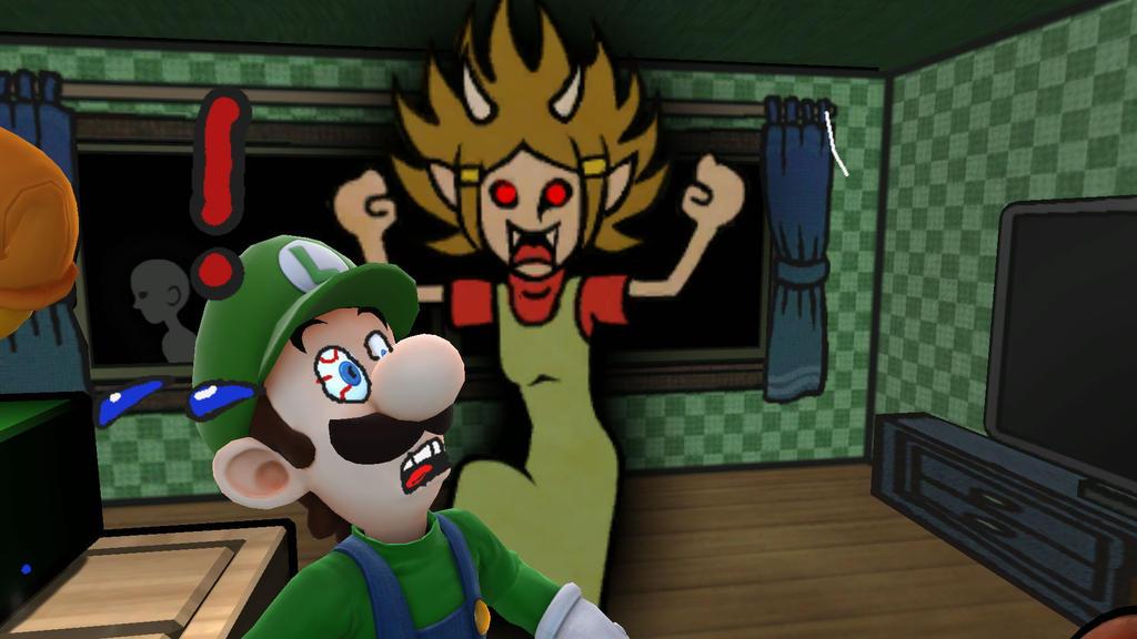 Poor Poor Luigi by lbbrian