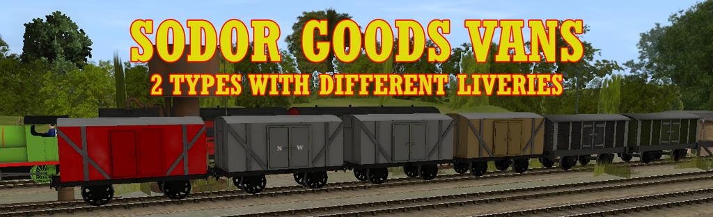 Sodor Goods Vans Release by lbbrian