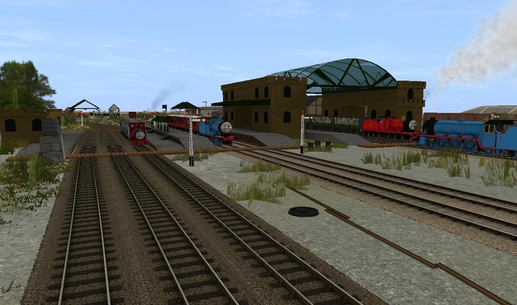 Crovan's Gate Railway Station by lbbrian