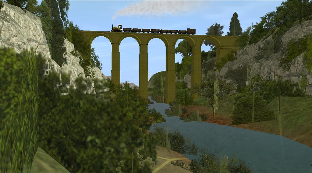 Rheneas Viaduct by lbbrian