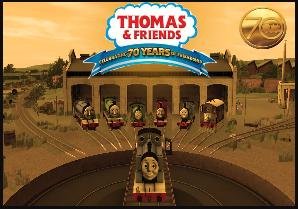 70 Years of Thomas by lbbrian