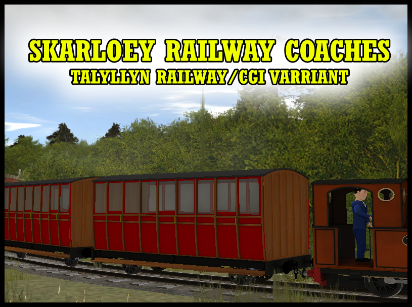 Skarloey Raiway Coaches RELEASE! by MH1994