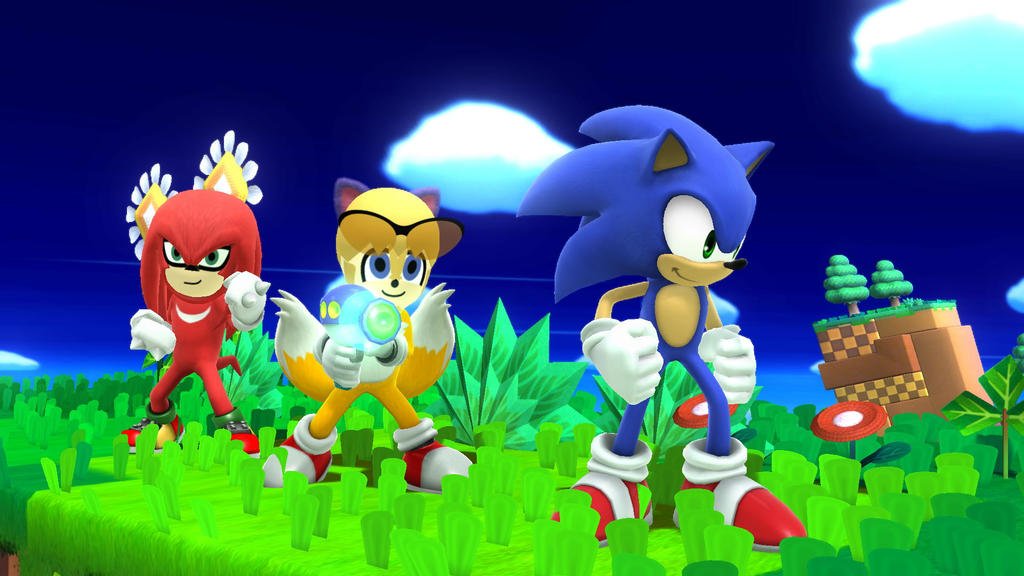 YEAH! WE'RE SONIC HEROES! by MH1994