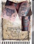 Skull tattoo sketches by Ljtigerlily