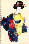 Beautiful Geisha by Ljtigerlily