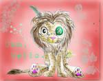 Leon lion coloured by Ljtigerlily