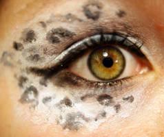 Snow Leopard Eye 1 by Ljtigerlily