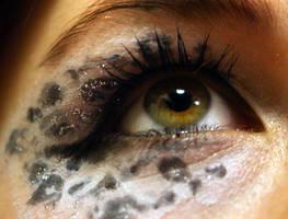 Snow Leopard Eye 5 by Ljtigerlily