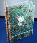 Steampunk Circuitboard book