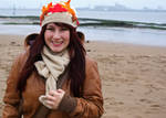 Autumn Leaves Hat and scarf