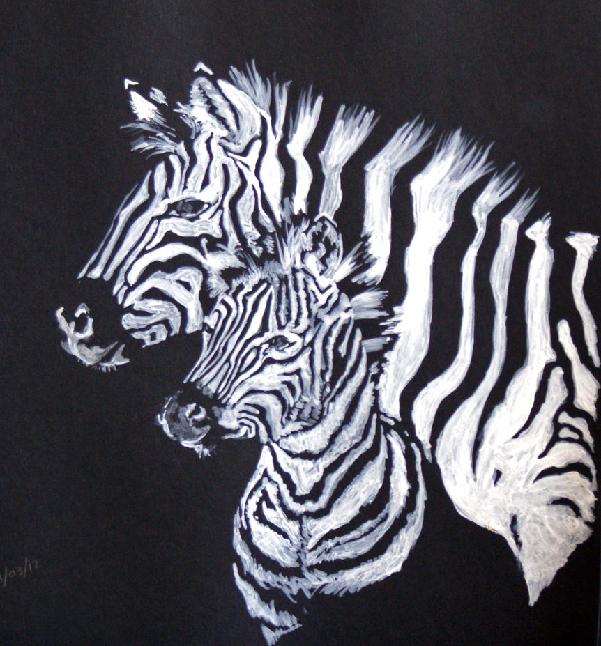 Zebra baby and mother - photo#17