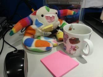 Office Monster by Ljtigerlily