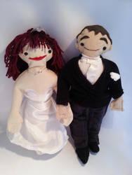 Anniversary dolls commission