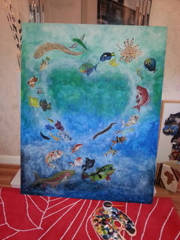 Project Fish Work in Progress