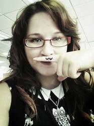 Moustache madness by Ljtigerlily