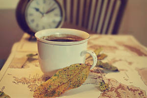 Cup of Autumnal Coffee by FredyHannover