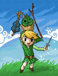 Link and Makar by DW3Girl