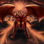 Lava Dragon by OriginalLp9