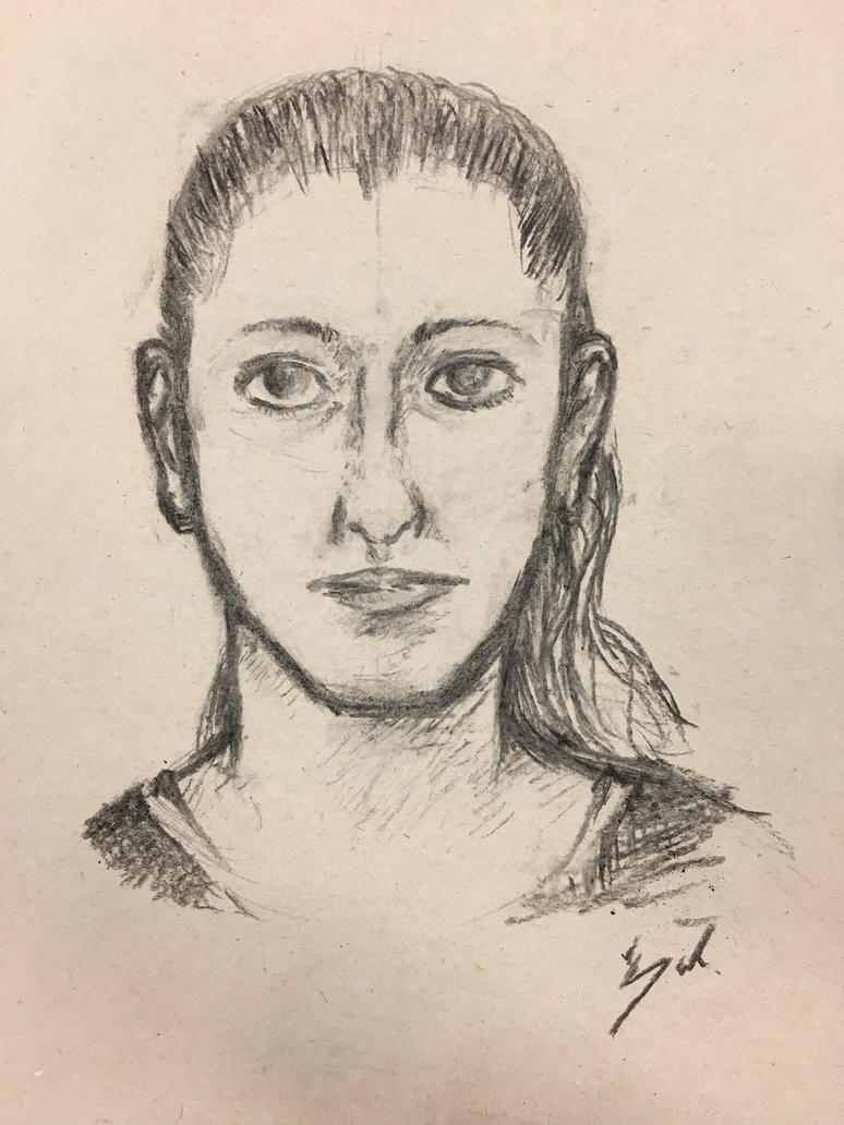Drawing of my friend by lNSartl