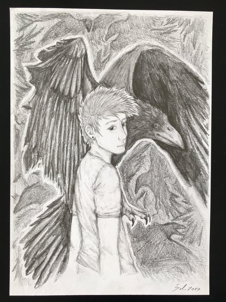 Raven boy by lNSartl