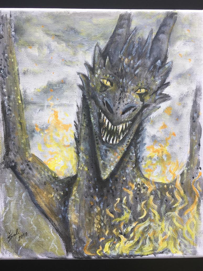 Fire Monster by lNSartl