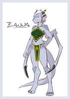 Zanna the Ground Dragon! by HoltzWorks