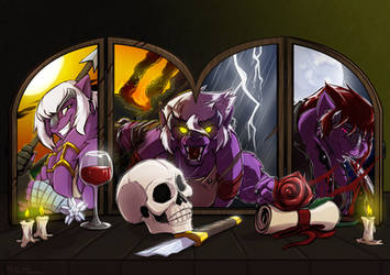 [C] The Terleir Triptych by HoltzWorks