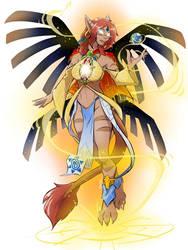 [C] The Sun Goddess!