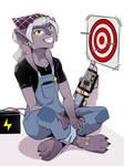 [C] Cyberpunk Tabby!