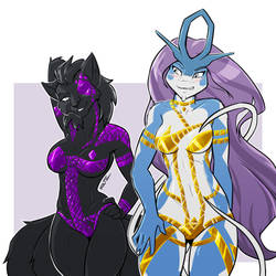 [C] Black Tape Nyx and Kris!