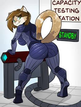 [C] Helia's Cyber-Suit!