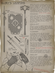 [C] Rose's Notes: Glory's Weapons!