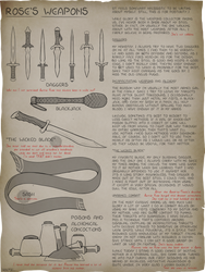 [C] Rose's Notes: Rose's Weapons!